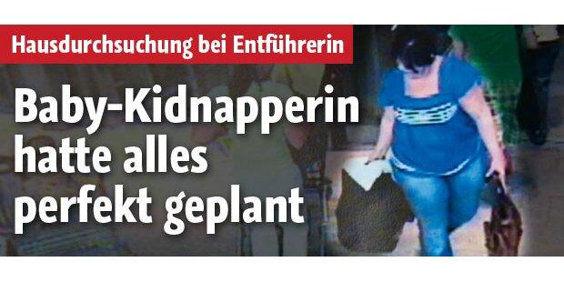 Kidnapperin hatte Baby-Ausstattung