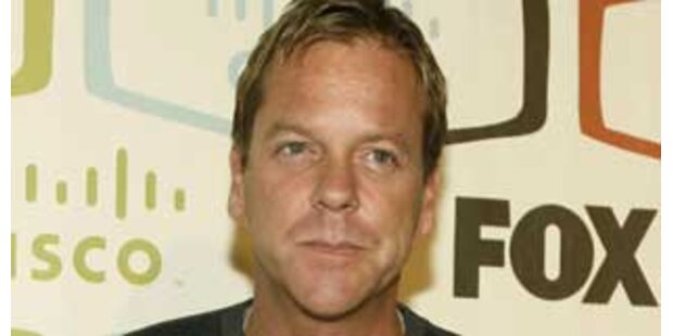 Trunkenheitsfahrt - Kiefer Sutherland festgenommen