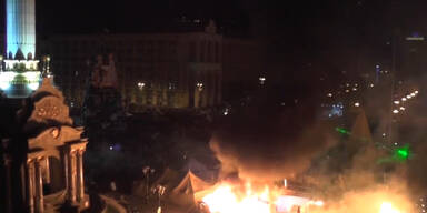 Kiew brennt: 25 Tote bei Straßenschlachten