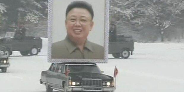 Kim Jong Il: Groß inszenierte Beisetzung