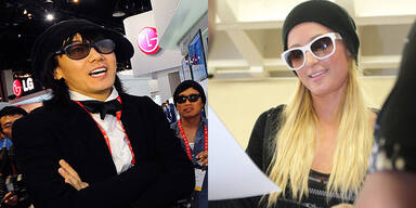 Kim Jang-Hoon und Paris Hilton