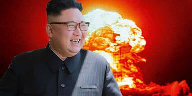 Kim Jong-un Atombombe