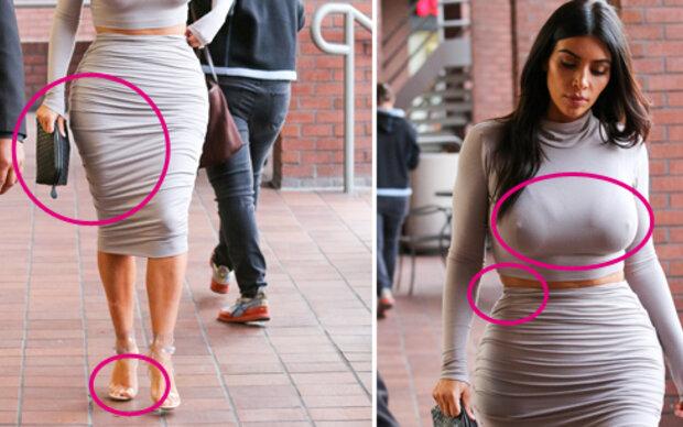 Bei diesem Look macht Kim ALLES falsch