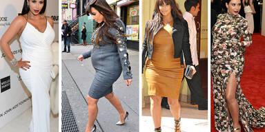Kim Kardashians schlimmste Schwangerschafts-Styles