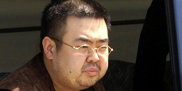 Kims Halbbruder: Frauen übten für Mordanschlag in Einkaufszentrum