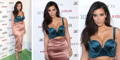Kim Kardashian - Kleid vergessen?