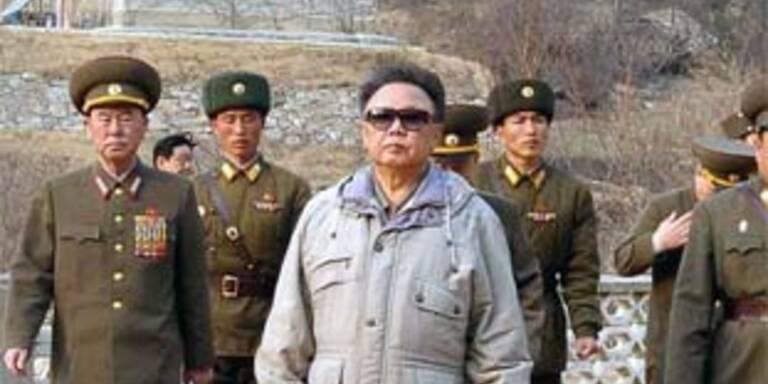 Nord-Koreas irrer Diktator Kim Jong-il