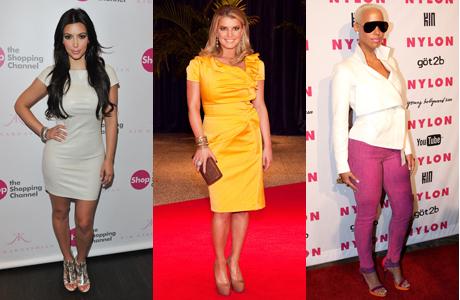 Kim Kardashian, Jessica Simpson, Amber Rose