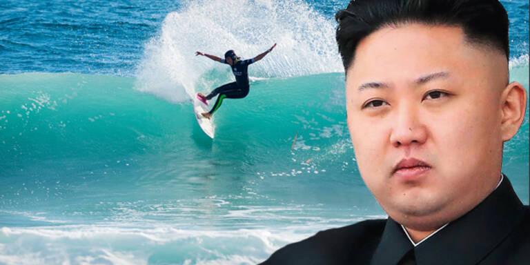 Irrer Kim will aus Nordkorea ein Surfer-Paradies machen
