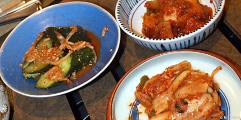 Kimchi wurde schon an Bord der ISS gegessen