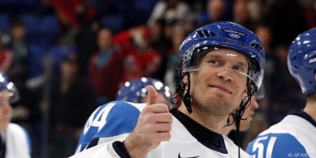 Finnen im Eishockey-Halbfinale