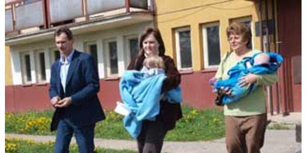 Vier Kinder in Bratislava ohne Essen eingesperrt
