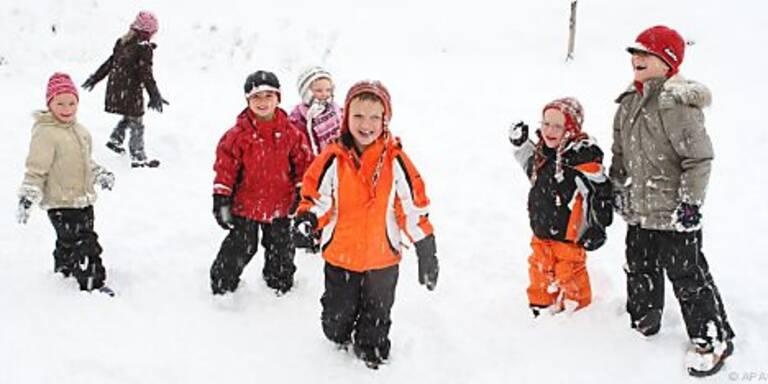 Kinder sind kälteempfindlicher als Erwachsene