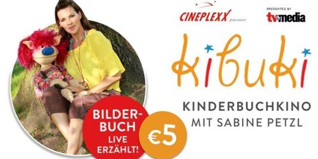 Kibuki - Bilderbuch live erzählt mit Sabine Petzl