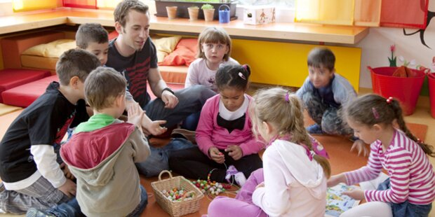 Traumjob Kindergarten-Pädagoge/In