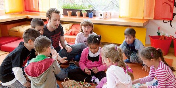 2 Buben aus Kindergarten ausgerissen