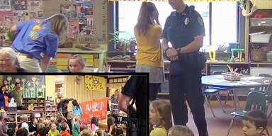 Kinder stellen ihr die Frage aller Fragen