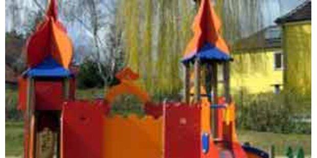 Vandalen zerstören Kindergarten