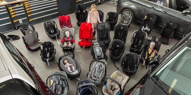 Kindersitztest 2019: Zwei