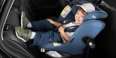 Ergebnisse beim ÖAMTC Kindersitz Test
