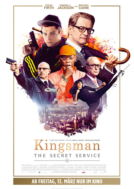 "Colin Firth in ""Kingsmen"""