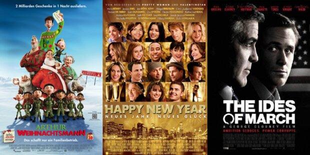 Weihnachten hat das Kino fest im Griff