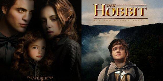 Twilight-Saga endet, Hobbit-Reise beginnt