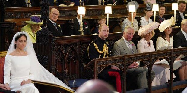 Darum blieb der Platz neben William frei
