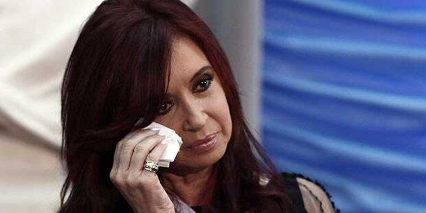 Haftbefehl gegen Ex-Präsidentin Kirchner
