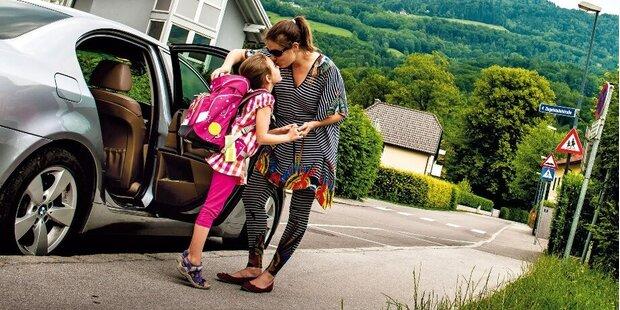 Elterntaxi: Gut gemeint – aber gefährlich