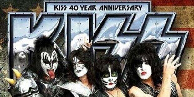 Kiss feiert Geburtstag mit Jubiläums-Platte