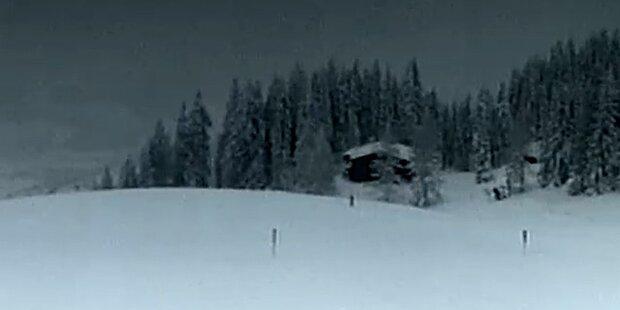 So viel Schnee wie noch nie: Kitzbühel