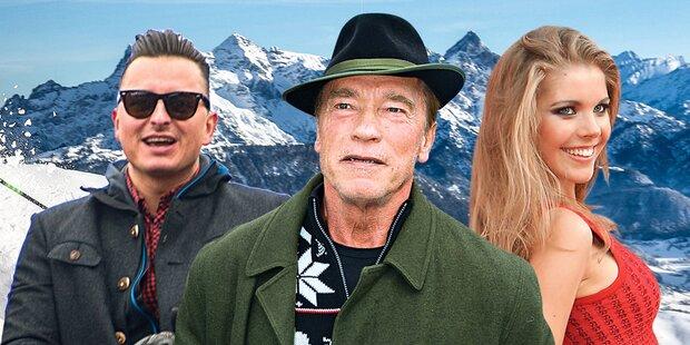 Arnie & Co. im Anflug auf Kitzbühel
