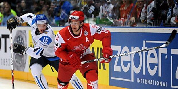 Finnland unterliegt bei Eishockey-WM Dänemark