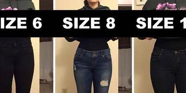 Deena Shoemaker Kleidergrößen