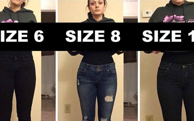 Diese Frau beweist, dass Kleidergrößen nichts bedeuten