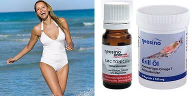 Kleine Kraftpakete für großer Wirkung Neosino Nahrungsergänzungsmittel Krill Öl SMC Tonicum