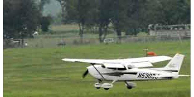 Bundesheer fing drei Kleinflugzeuge ab