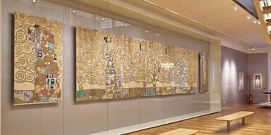Gustav Klimt Fries im MAK