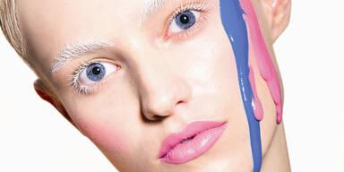 Knallig durch den Fasching - Make up
