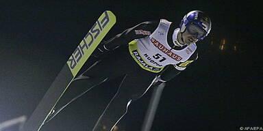 Ammann erster Schweizer Skisprung-Weltcup-Sieger