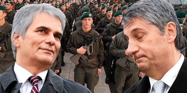 Heeres- Krieg in der Koalition