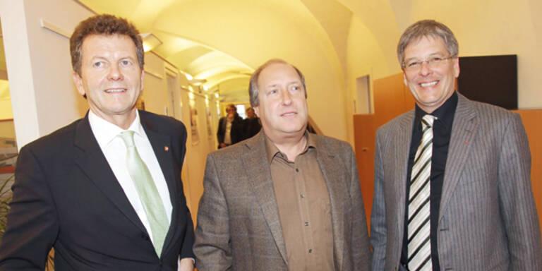 Erste 3er-Koalition in Österreich