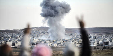 Kurden vertreiben ISIS aus Kobane