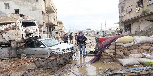 Kobane: Kurden drängen IS zurück