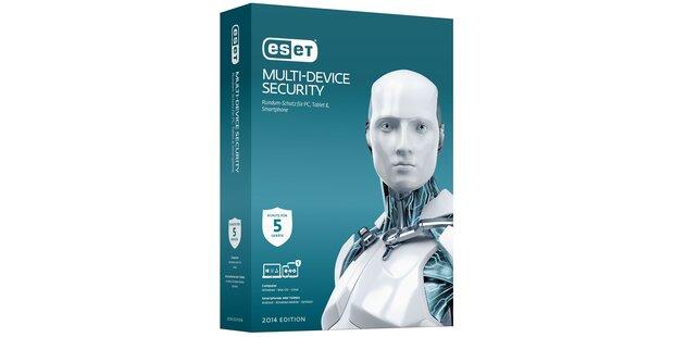 ESET Multi Device Security V7 für PC, Mac, Smartphone oder Tablet