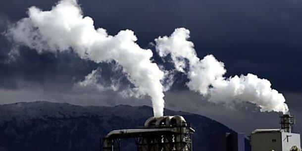 Treibhausgas-Ausstoß so hoch wie nie