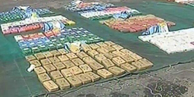Argentinien: Polizei sichert 1 Tonne Kokain