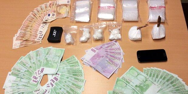 Linz: Mutmaßliche Drogendealer aufgeflogen
