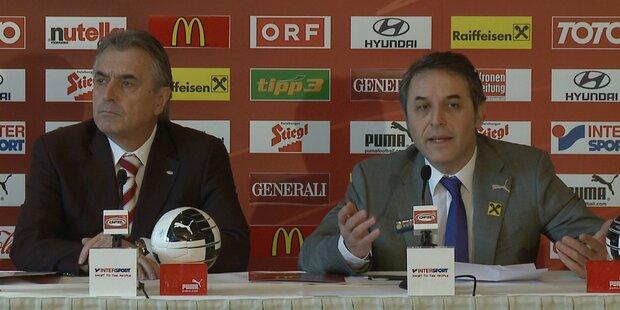ÖFB: Marcel Koller gibt Teamkader bekannt